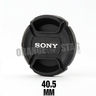 Sony LC-40.5 Front Pinch Lens Cap for Alpha 40.5mm filter thread snap-clips