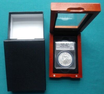 2014 Silver American Eagle ANACS MS70 1st Day of Issue Coin #780