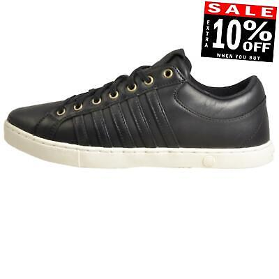K Swiss Adcourt 72 SO Men's Causal Leather Retro Fashion Trainers Black