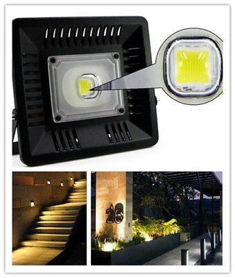 LED Flood Light 30W 50W Waterproof LED Spotlight Street Garden Outdoor Lamp UUU