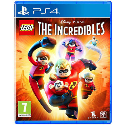 LEGO The Incredibles Video Game For Sony PS4 Console Brand New Sealed