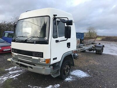 DAF FA45-150 11t SLEEPER CAB-2 CAR PRO STRETCHED CHASSIS SCAFFOLD HOT ROD BANGER
