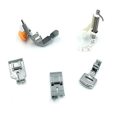 5-Piece Presser Foot Kit FP3 for Brother low-shank models
