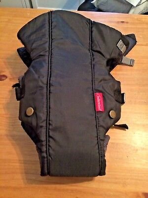 Infantino Swift Classic Comfort Infant Carrier Black Front Baby 8 to 25 Lbs.