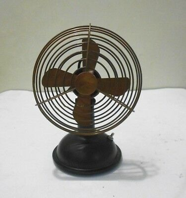 """Vintage Nautical Working Table Fan Collectable In 6"""" Antique Table Fan Handmade"""