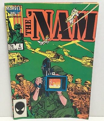 The 'NAM Military Comic Book Marvel 25th Anniversary 1987 Vol 1 No 4 VG Cond.