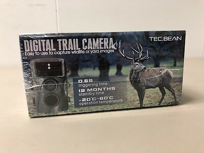 Tec.Bean Digital Trail Camera 1080P 2.4 TFT LCD Screen NEW!