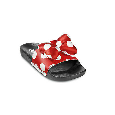 NWT Vans Disney Limited 90th Anniversary Slide On Minnie's Bow/True White LAST 1