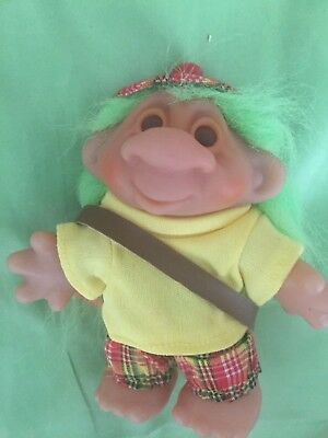 Dam Troll Golfer Doll Good Luck Troll Very Collectable Gift