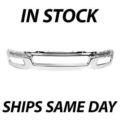 New Chrome Steel Front Bumper Face Bar Shell For 2004 2005