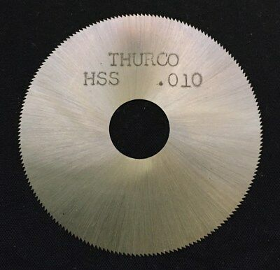 Thurston Jewelry 2 x 0.010 x 1/2 190T Slitting Slotting Saw