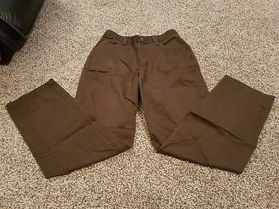 Lee Performance Khakis, Size 10 Med Womens Pants, Brown.  (609)