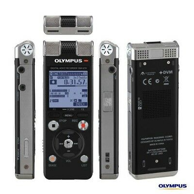 OLYMPUS DM-670 Handheld Digital Voice Recorder New with Leather Case