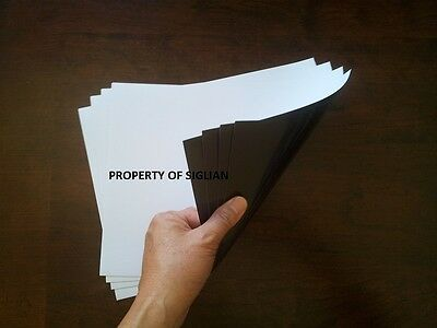 PHOTOCOPY and LASER Printable Paper Magnet, LETTER SIZE (50 SHEETS)