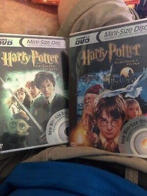 Harry Potter Sorcerers Stone And The Chamber Of Secrets (Mini-size Disc)