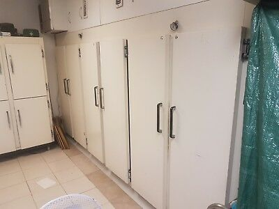 Commercial 6 Door Fridge Freezer