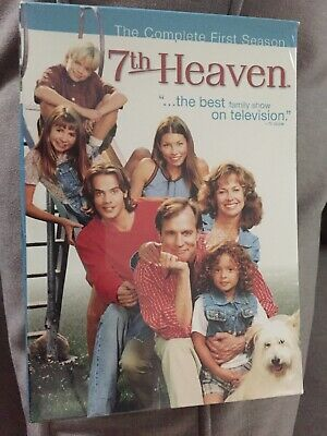 7th Heaven - The Complete First Season (DVD, 2004, 6-Disc Set)