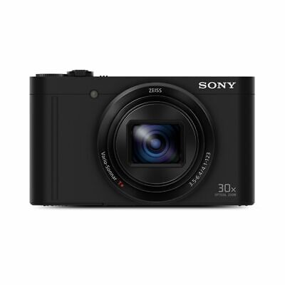 SONY DSCWX500B Digital Compact Camera with 30x Optical Zoom (Black) (Seconds)