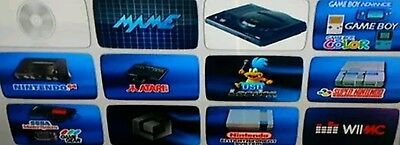 16gb SD card loaded Nintendo Wii Loaded with thousands of classic games ***READ