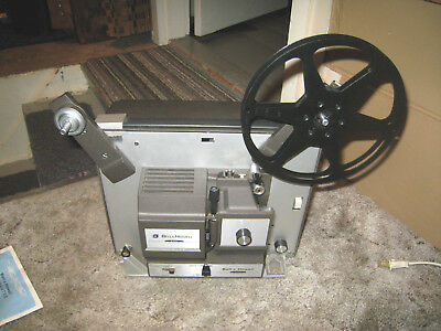 Bell and Howell Motion Picture Projector 8mm Super 8 Design 456A Auto Load J-7