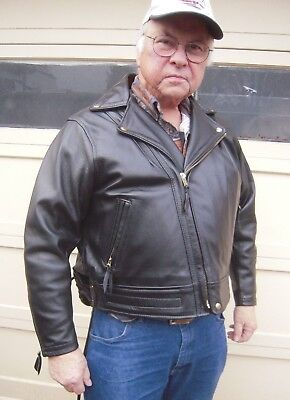 Langlitz Leather Women's Columbia Jacket Size 50 mint Fits men very well see pic
