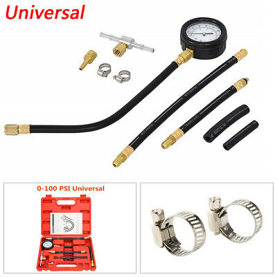 Universal 0-100 PSI Fuel Injection Pump Pressure Injector Tester Pressure Gauge