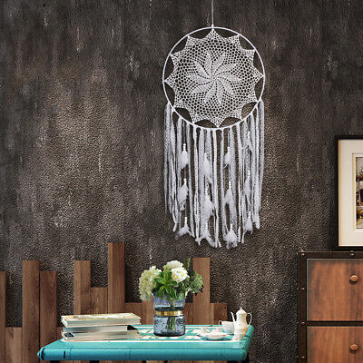 Boho Dream Catcher With feathers Wall Hanging Decoration Decor Bead Ornament Hot