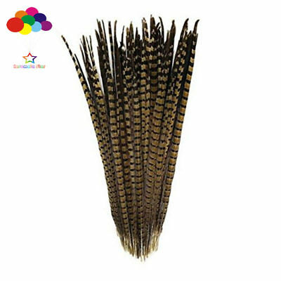 10-100 Pcs 20-22 Inch/50-55cm Natural Pheasant Tail Feathers Wedding Decorations