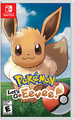 New Nintendo Switch Pokemon Let's Go Eevee [Game only] ENG/CHI/JPN