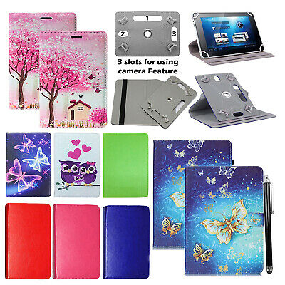 "Huawei MediaPad T5 (10.1""inch) Tablet 360° Universal PU Leather Flip Case Cover"