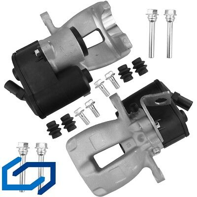 Brake Caliper with Actuator Rear Axle Left+Right for VW Passat 3c2 3c5 B6