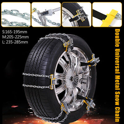 Truck Thickened Beef Double-buckle Car Winter Anti-skid Belt Tire Chain Snow