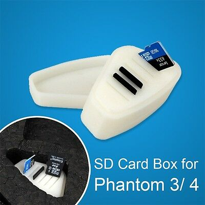 Memory SD Card Storage Carrying Case Protector Box Holder For DJI Phantom 3/4
