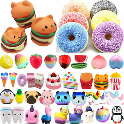 Gift UK Reliever Toy Slow Stress Squeeze Rising Jumbo Squishies Scented Squishy