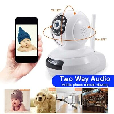 1080P HD Wireless Wifi IP Camera IR Security Webcam Baby Monitor CAM UK STOCK
