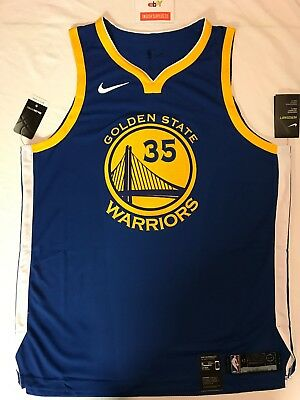 cb3ec320a6a7 NEW Nike Authentic Kevin Durant Golden State Warriors Jersey Size XL 863022  496