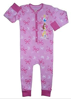 Girls All In One Sleepsuit Disney Princess 18-24 Months Great Stocking Filler