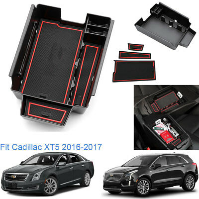 Car Interiors Center Consoles Armrest Storage Box For Cadillac XT5 2016-2017