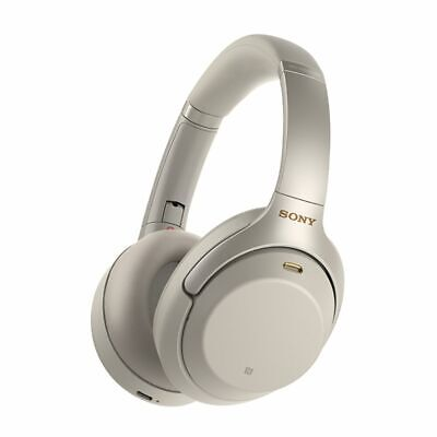 SONY WH1000XM3S Wireless Noise Cancelling Headphones (Silver) (Seconds^)