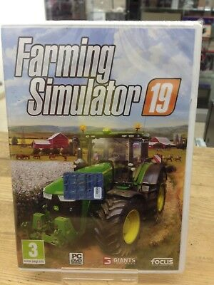 farming simulator 19 pc italiano  FARMING SIMULATOR 19 - PC - Sigillato Nuovo italiano - EUR 39,99 ...