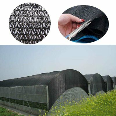 50% Sunblock Shade Fabric Cloth Netting UV Resistant Greenhouse Plant Cover 6X2m