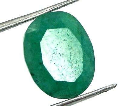 GGL Certified 3.00 Ct Natural Exquisite Look Oval Cut Emerald Gemstone