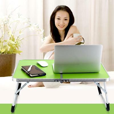 BIN Portable Laptop Notebook Computer Foldable Desk Sofa Bed Tray Table Stand