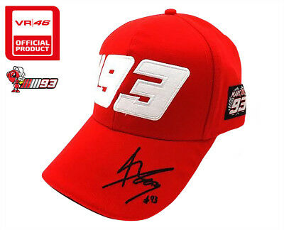 c4bcd0006ea5e Official Motogp World Champion Marc Marquez  93 Red Rider Hat Paddock Cap