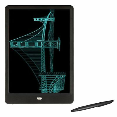 "10""inch Writing Tablet 6mm Digital Art Graphics Drawing Board LCD Pad w/ Pen S4W"