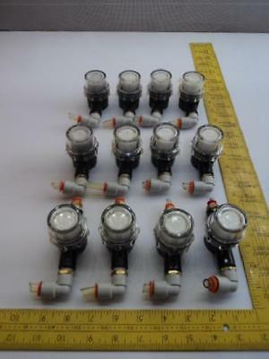 Lot of 12 PIAB PPSF PPX10RE Pneumatic Filters/Valves T17169