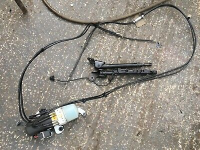 Vw Beetle Convertible Roof Hydraulic Pump, Pipes And Rams