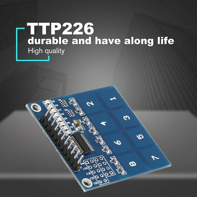 TTP226 8 Channel Digital Capacitive Switch Touch Sensor Module for Arduino NP