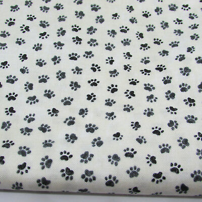 Paws - from You had me at Meow by Northcott Fabric 100% cotton per fat quarter