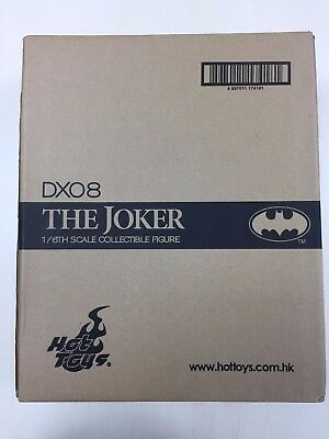 Hot Toys DX08 DX 08 1989 Batman Joker Jack Nicholson 12 inch Figure SEALED NEW